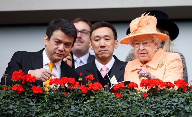 The Queen is at her happiest at the racecourse, says