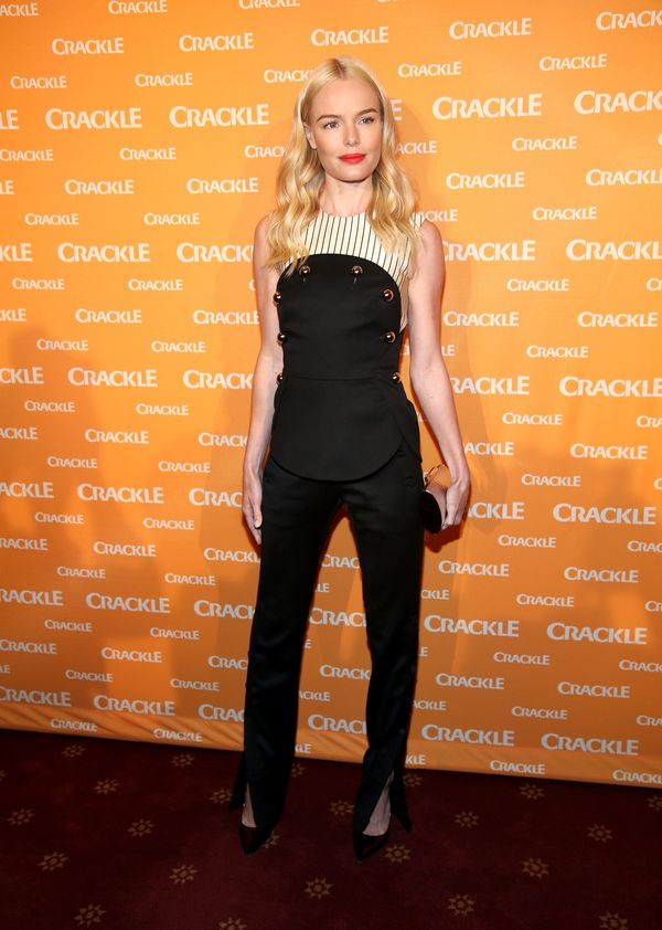 <strong>Kate Bosworth inMonse:</strong>This top and pants combo, which looks a lot like a jumpsuit, has great sma