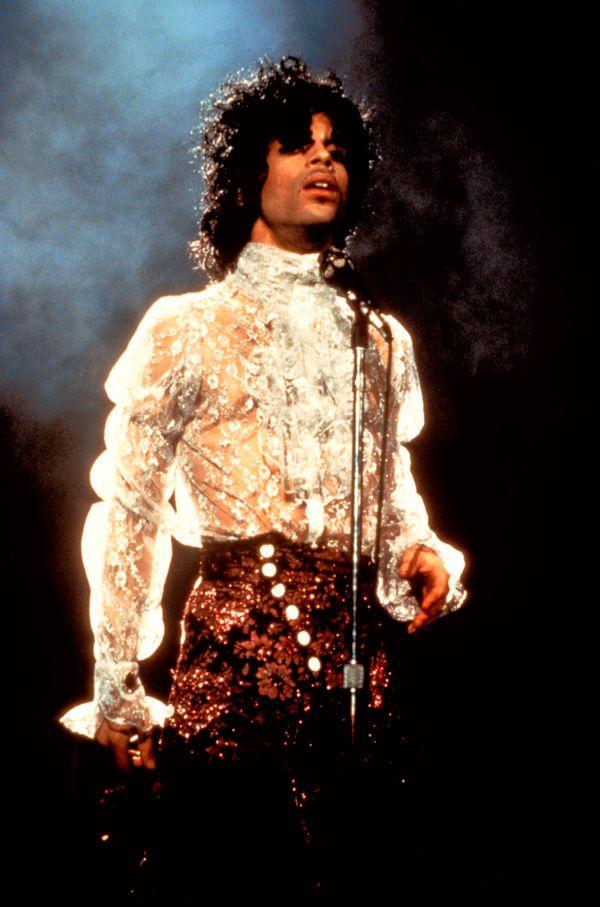 During The Purple Rain tour.