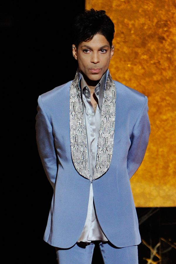 Onstage at the 42nd NAACP Image Awards in Los Angeles, California.