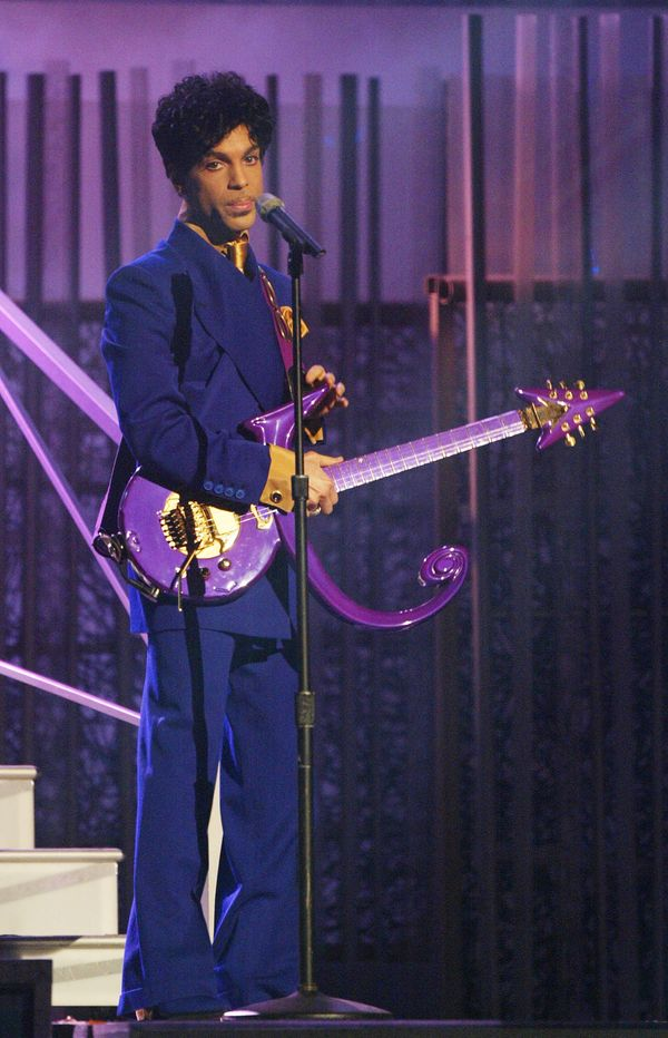 Performing at the 46th Annual Grammy Awards.