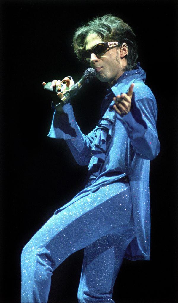 Performing on stage at Jaarbeurs in Utrecht, Netherlands.