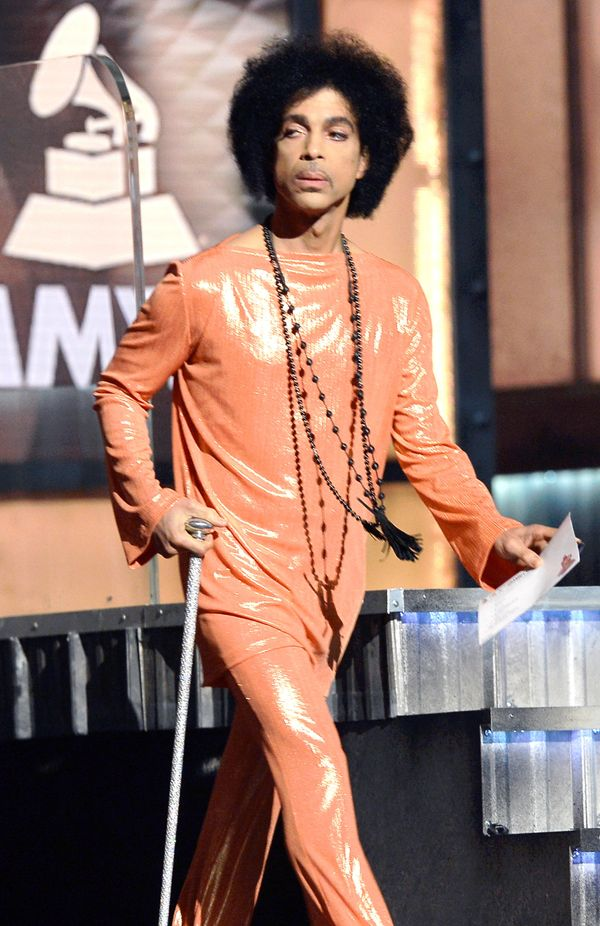 Onstage during the 57th Annual Grammy Awards.