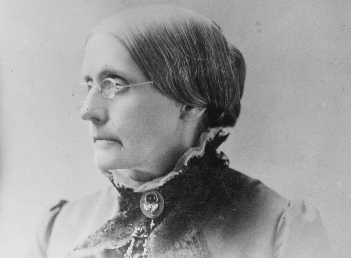 Susan B. Anthony helped pave the way for women to get the right to vote.