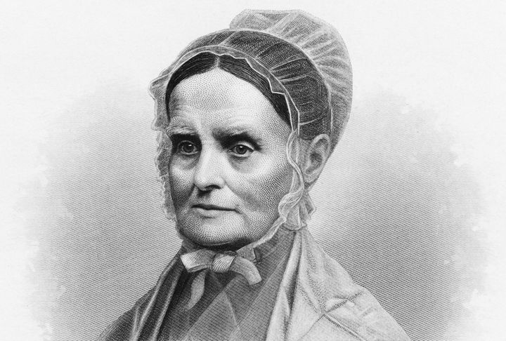 Lucretia Mott, a noted social reformer, helped write the Declaration of Sentiments at the Seneca Falls Convention in 1848.