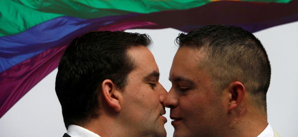 Meet The First Gay Police Officer In Chile To Celebrate A Civil Union