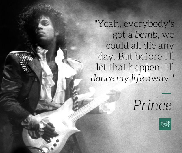 Prince Had The Right Philosophy On Life And