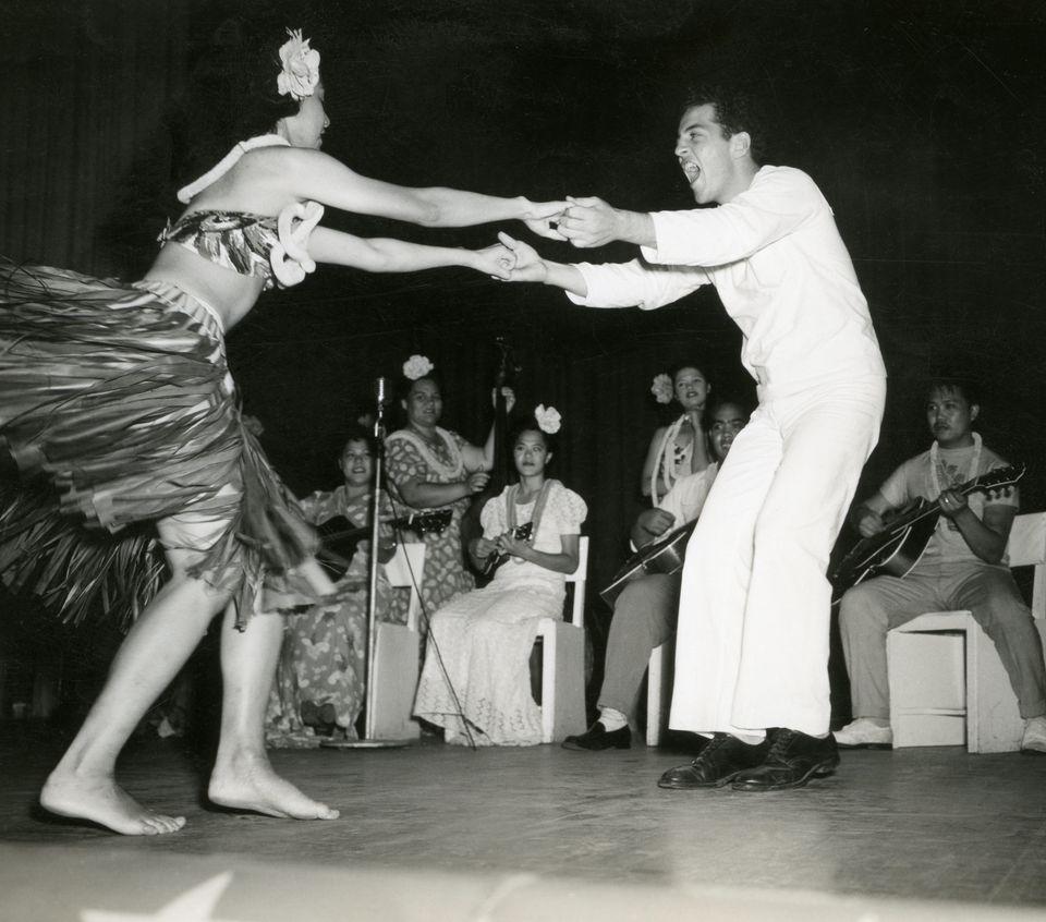 USO dance, Honolulu, circa 1942.