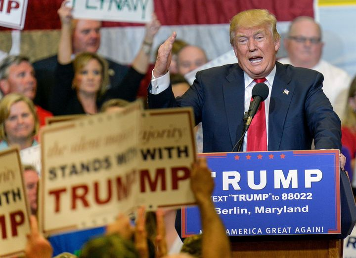 GOP front-runner Donald Trump has promised to put on a show in Cleveland.