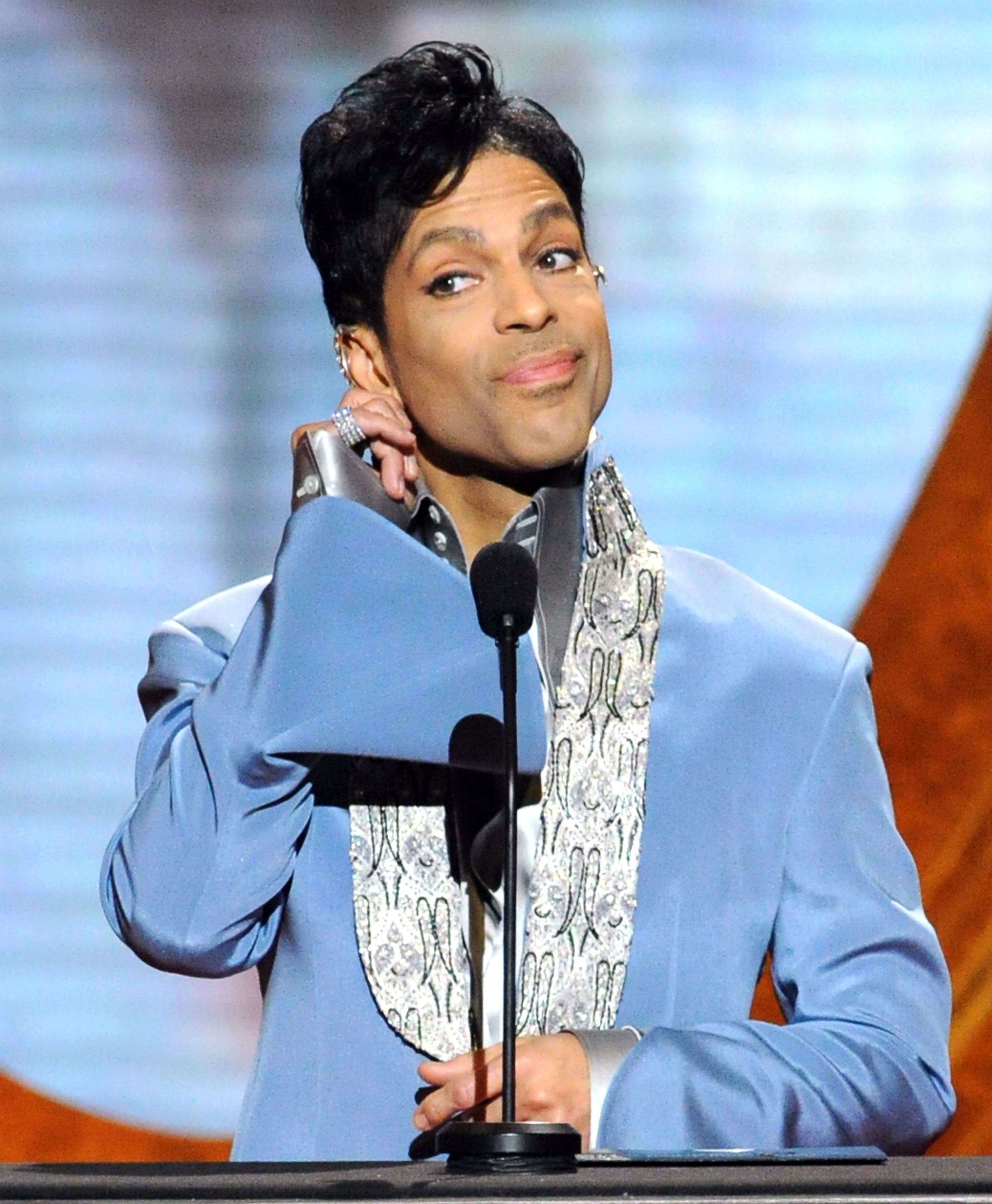 LOS ANGELES, CA - MARCH 04:  Presenter Prince speaks onstage at the 42nd Annual NAACP Image Awards held at The Shrine Auditorium on March 4, 2011 in Los Angeles, California.  (Photo by Jeff Kravitz/FilmMagic)