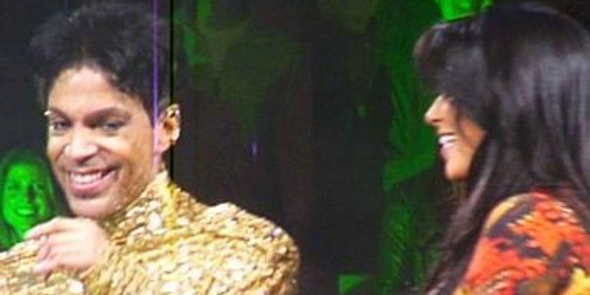 Remember That Time Prince Kicked Kim Kardashian Off The Stage?