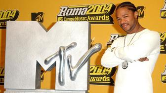 Rap artist Xzibit during a press conference and photocall ahead of the MTV Europe Music Awards, held at the Tor di Valle, Rome, prior to the awards ceremony tomorrow evening.