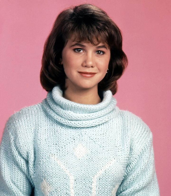 "Tracey, shown here circa 1985, struggled with anorexia in her teens. A few seasons into ""Growing Pains,"" she was dieting"