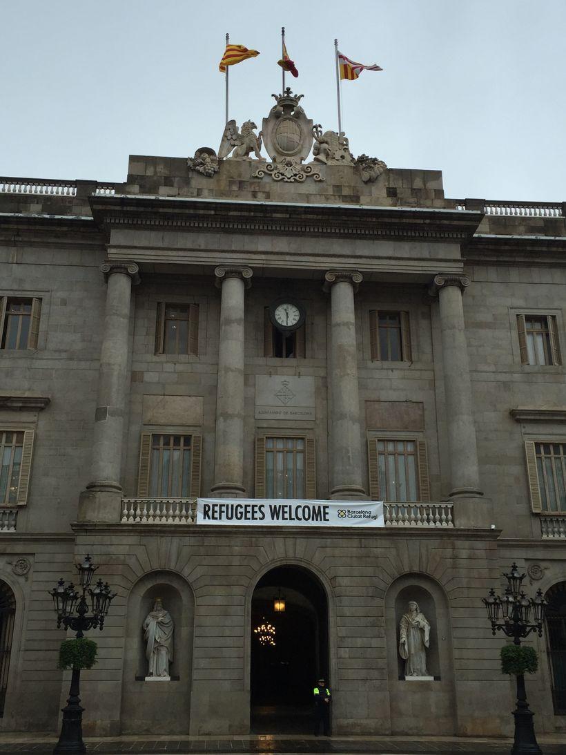 City Hall in Barcelona Spain