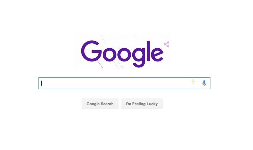 Google goes purple for Prince.