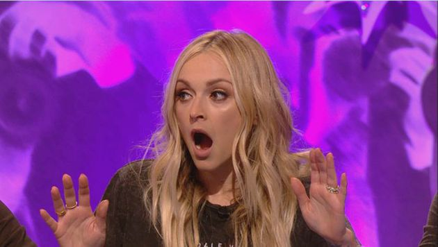 Fearne was also gobsmacked by Danny's