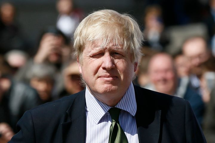 London Mayor Boris Johnson rebuffed Obama's suggestion.