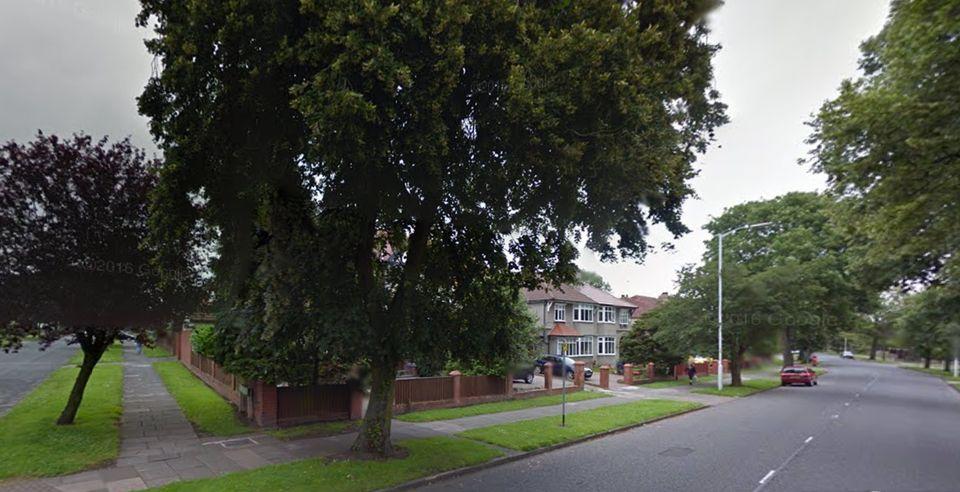 Kings Lane where the crash took