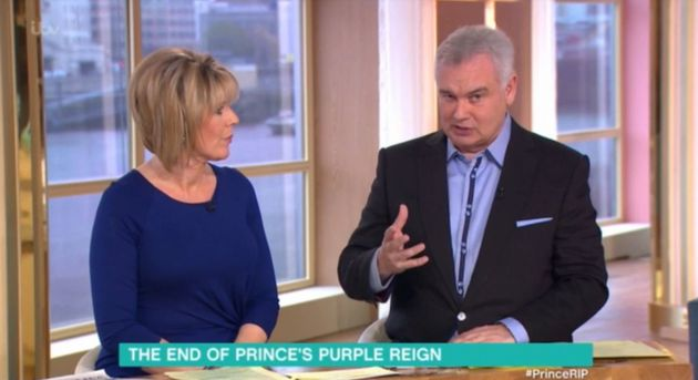 Eamonn Holmes said some controversial comments about