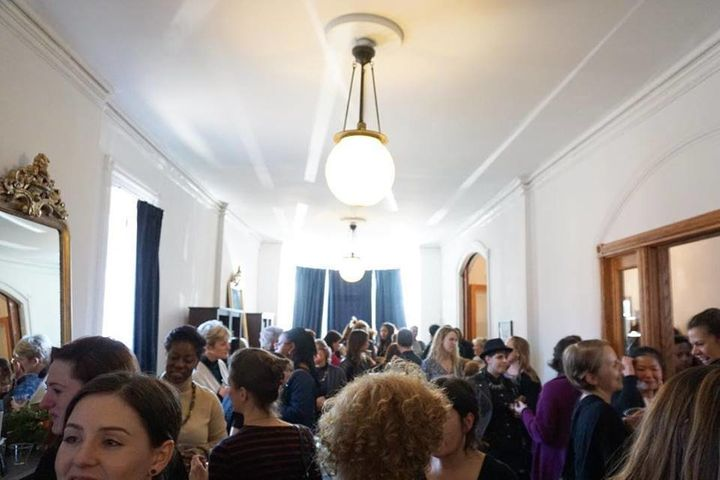 About 60 women, representing a range of ages and professions, gathered earlier this month at the Urban Consulate in Detroit f