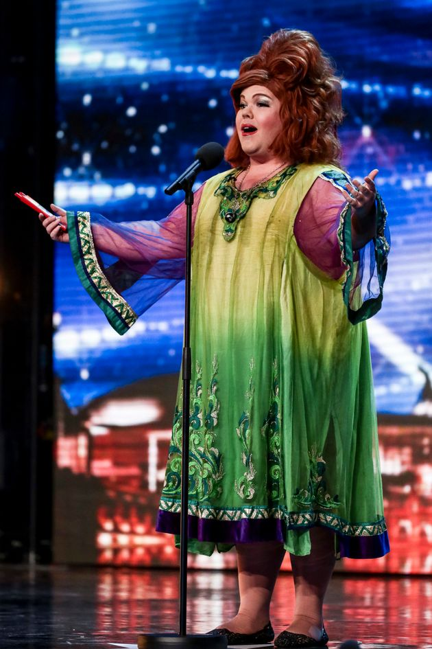 Ruby Murray auditions for 'Britain's Got