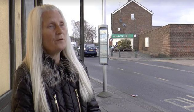 A screengrab from the Britain First political broadcast shown on ITV and BBC which appears to show Paul...