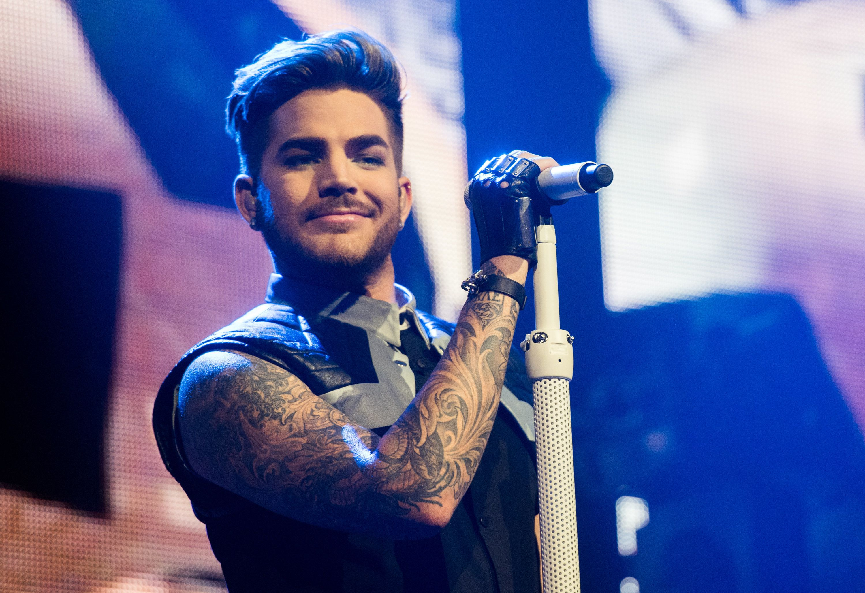 Adam Lambert was the first openly gay artist to have an album debut at the top of the US Billboard