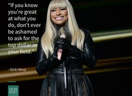 Nicki Minaj Thinks Women Should Be 'Unapologetic' About Demanding Equal Pay