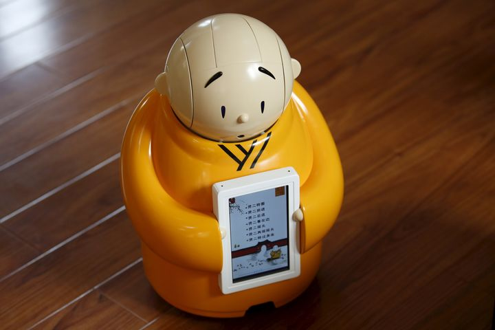 Xian'ercan chant Buddhist mantras, move via voice command, and hold a simple conversation.