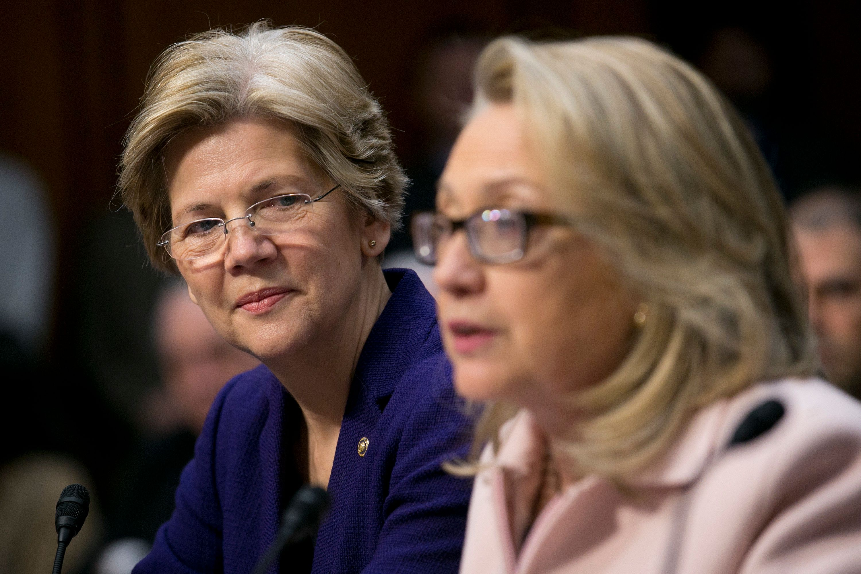 Sen. Elizabeth Warren just might want to be vice president.