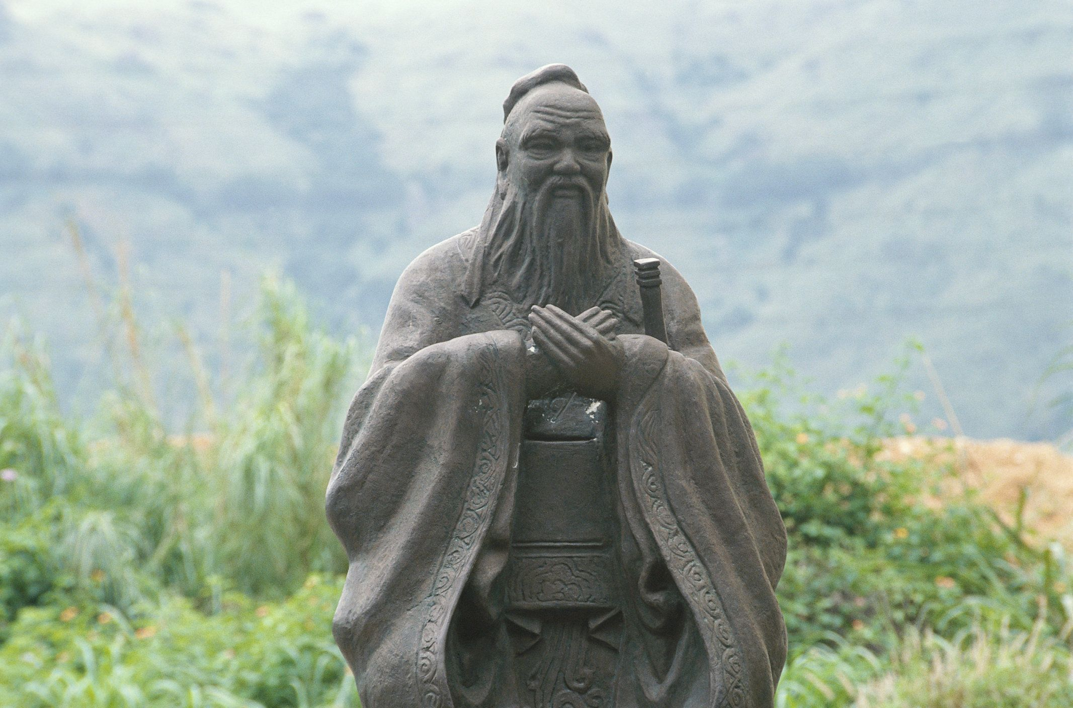 "According to Chinese philosophers like Confucius, Xunzi and Laozi, we shouldn't be trying to discover our ""true self."""