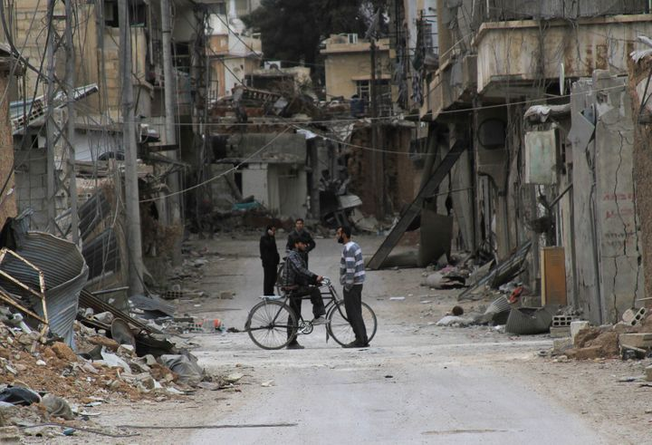 Journalist Rahaf Haboub recalls her family'sharrowing journey out of Daraya, a Damascus suburb besieged by pro-governme