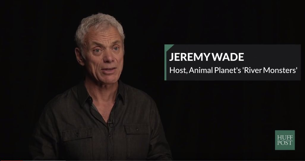 "Jeremy Wade, the host of ""River Monsters"" sits down with HuffPost Originals to discuss Earth Day."
