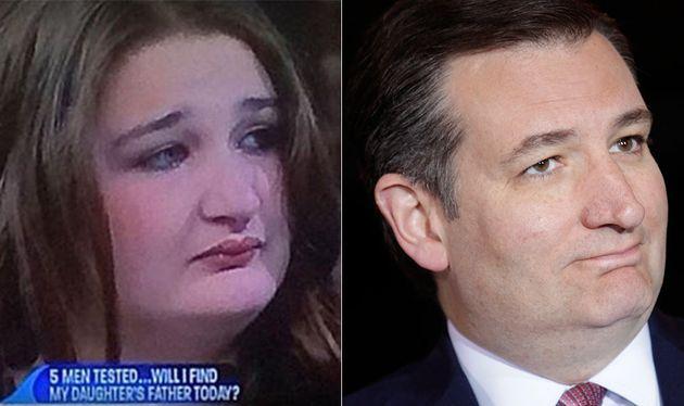 Female Ted Cruz Lookalike