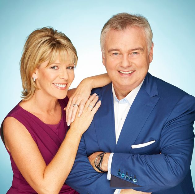 Ruth Langsford and Eamonn Holmes have insisted they are not the celebrity threesome injunction