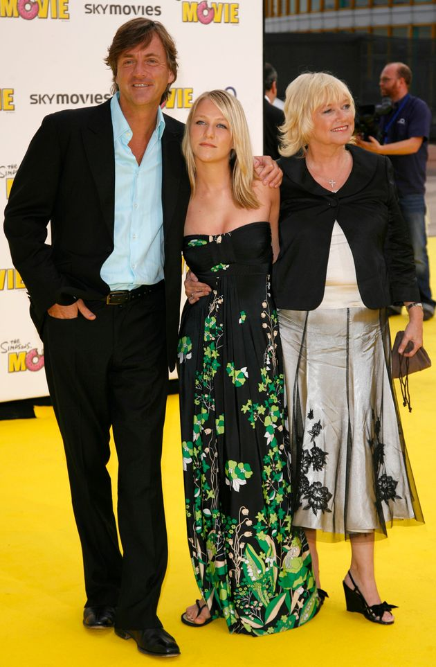 Chloe with parents Richard Madeley and Judy
