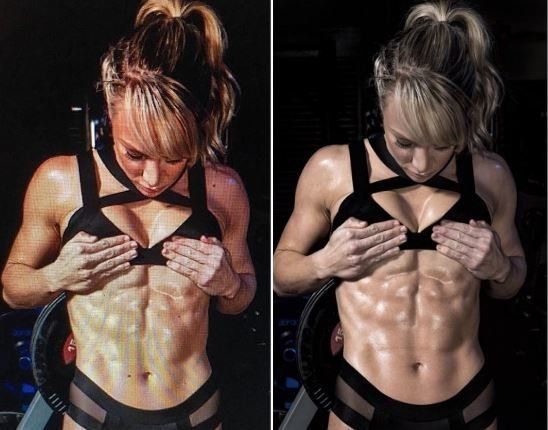 Chloe Madeley Superbly Shuts Down Six-Pack Body