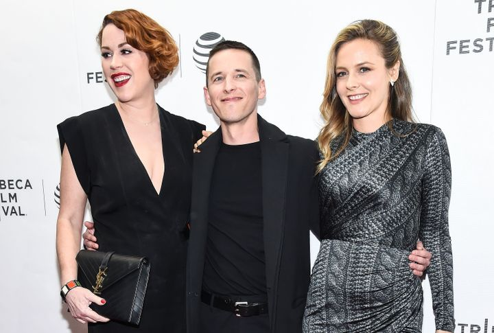 "Molly Ringwald, Justin Kelly and Alicia Silverstone attend the Tribeca Film Festival's ""King Cobra"" premiere."