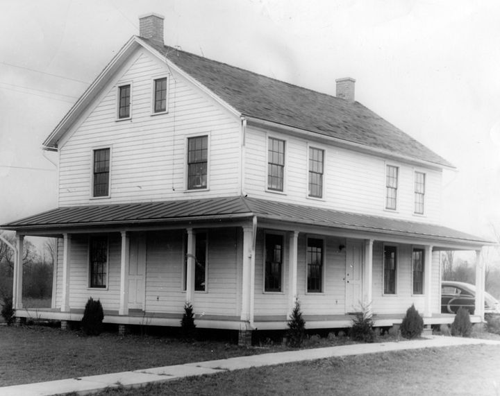 A photograph of the Harriet Tubman Home in 1940.