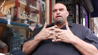 John Fetterman hopes to ride the Bernie Sanders side of the populist wave to Pennsylvania Senate seat.