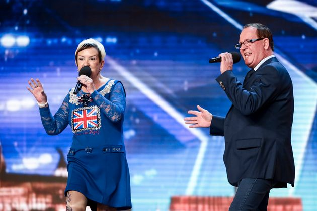 David Walliams pressed his Golden Buzzer for Ian and his wife