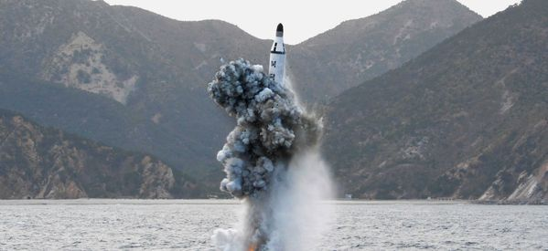 North Korea Says Submarine Ballistic Missile Test 'Great Success'
