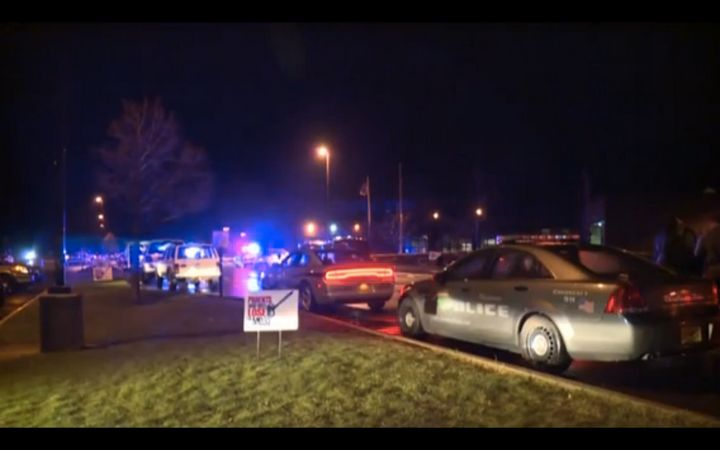 A shooting at Antigo High School in Wisconsin has left a gunman dead and two students injured.