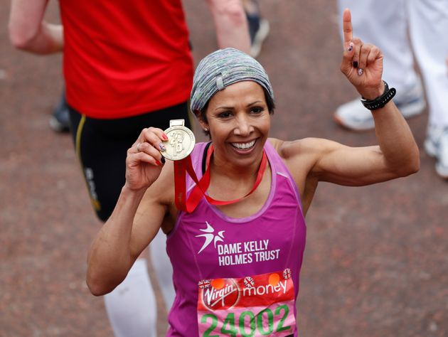 Dame Kelly Holmes Says Her First London Marathon Was Powered By Prince's
