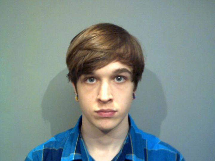 Sean Taylor Morkys,20, was arrested after police say he threatened to bomb a Donald Trump rally being held in Connectic