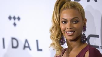 Singer Beyonce arrives at TIDAL X: 1020 concert at the Barclays Center in the Brooklyn borough of New York October 20, 2015. REUTERS/Brendan McDermid