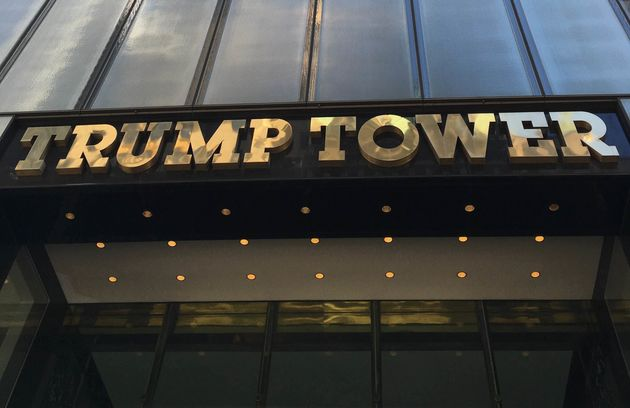The Trump Tower is the citadel and symbol of Trump's unprecedented