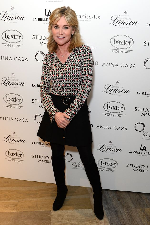Anthea Turner To Use Difficult Divorce To Help Others With New Book. '