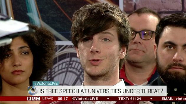 NUS vice president Richard Brooks suggested some people have more equal rights than others regarding...