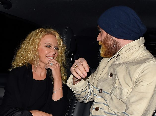 Kylie Minogue Revives Her 'Neighbours' Curls On Date Night With Fiancé Joshua